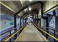 NZ2962 : Walkway, Pelaw Metro Station by Andrew Curtis