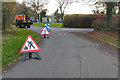 SU9554 : Bullswater Common Road, Pirbright by Alan Hunt