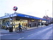 TQ3479 : Bermondsey tube station - entrance by Mike Quinn