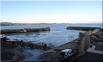 J3829 : Newcastle Harbour from the roof of the sewage plant by Eric Jones