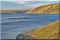 SN8763 : The Claerwen reservoir by Nigel Brown