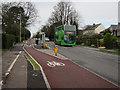 TL4655 : Floating bus stop, Hills Road by Hugh Venables