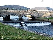 J3731 : Weir on the Shimna below Castle Bridge by Eric Jones