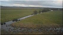 TQ0004 : Ditch, Floodplain of the River Arun by N Chadwick