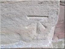 SO8483 : Ordnance Survey Cut Mark by Adrian Dust