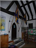 TQ5802 : Inside St Mary, Willingdon (B) by Basher Eyre