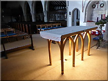 TQ5802 : Inside St Mary, Willingdon (E) by Basher Eyre