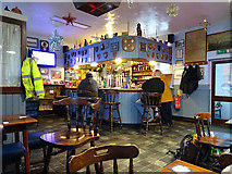 SH5639 : The Station Inn, Porthmadog by John Lucas