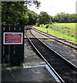 SZ5990 : Isle of Wight Railway Company notice facing Smallbrook Junction station by Jaggery