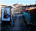 ST3088 : Debenhams advert on a Queensway bus shelter in Newport city centre by Jaggery