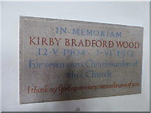 TQ5802 : St Mary, Willingdon: memorial (12) by Basher Eyre