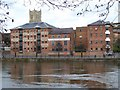 SO8454 : Former riverside warehouses by Philip Halling