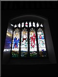 TQ5802 : St Mary, Willingdon: stained glass window (VIII) by Basher Eyre