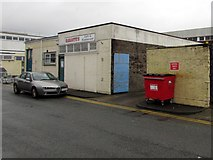 ST2995 : Red is for general waste, Cwmbran by Jaggery
