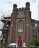 TQ4110 : Church of St John Sub Castro by N Chadwick