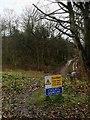 SK2367 : Caution cyclists dismount by Steve  Fareham