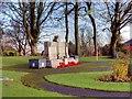 SD7712 : Tottington War Memorial and Garden by David Dixon