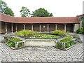 SU9644 : Godalming: Phillips Memorial Cloister by Nigel Cox