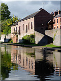 SO8171 : Former canal warehouse in Stourport, Worcestershire by Roger  Kidd