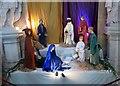 TA0339 : Nativity  scene  Beverley  Minster by Martin Dawes