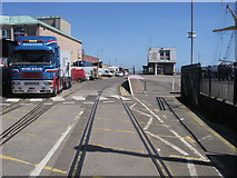 SY6878 : Weymouth Quay Station by Shaun Ferguson