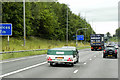 SE2427 : Eastbound M62 near to Gildersome by David Dixon