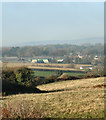 SS8578 : Tythegston from the south by eswales