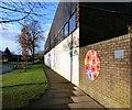 SJ9295 : Memorial Walls at Victoria Park by Gerald England