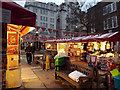 TQ2980 : Piccadilly Market, forecourt of St James's Church, Piccadilly, London by Robin Stott