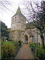 TQ6404 : St Nicholas Church, Pevensey by Paul Gillett