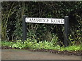 TL4159 : Cambridge Road sign by Adrian Cable