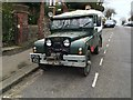 TQ7467 : Vintage 1955 Land Rover, Watts Avenue, Rochester by Chris Whippet