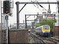 SJ8497 : ATW trains at Manchester by Stephen Craven