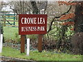 TL3959 : Crome Lea Business Park sign by Adrian Cable