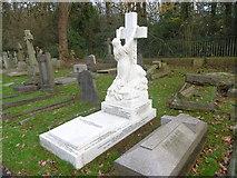 TQ2272 : In Putney Vale Cemetery by Marathon