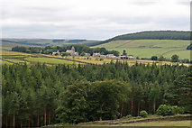 NY9449 : Hunstanworth from Bale Hill by Jo Turner