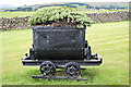 NY9940 : Old railway wagon by Crawleyside Bank by Jo Turner