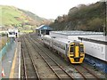 SH7401 : Machynlleth station, looking east by Stephen Craven