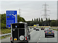 SE4323 : M62 Eastbound by David Dixon