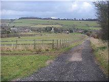 SU1872 : Bridleway heading into Ogbourne St Andrew by Shaun Ferguson