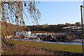 ST1899 : Site Offices, Islwyn High School, Oakdale by M J Roscoe