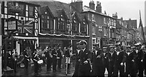 SU7682 : St Georges Day Parade in Hart Street, Henley by Antony Ewart Smith