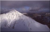 NN1454 : Stob Coire nan Lochan by Richard Webb