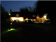 TF1505 : The Blue Bell, Glinton, by night by Paul Bryan