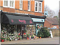 SP9211 : Xmas trees for sale in Tring High Street by Chris Reynolds