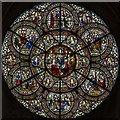 SK9771 : Chapter house stained glass window, Lincoln Cathedral by Julian P Guffogg