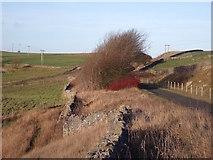 SK1462 : Former railway branch to the High Peak Silica Works by Ian Calderwood