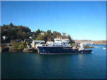 NM8529 : The NLV Pharos moored at Lighthouse Pier Oban by Rod Allday