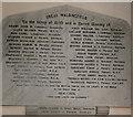 TL9143 : Great Waldingfield World War One War Memorial by Adrian S Pye
