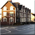 ST3288 : Row of three-storey houses, Eveswell, Newport by Jaggery